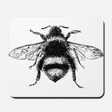Vintage Honey Bee Mousepad