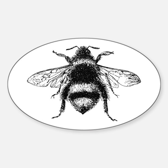 Vintage Honey Bee Decal