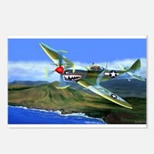 SPITFIRE OVER HAWAII Postcards (Package of 8)