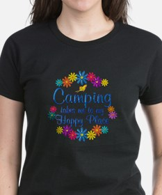 Camping Happy Place Tee