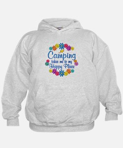 Camping Happy Place Hoodie