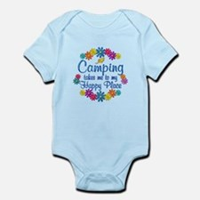 Camping Happy Place Infant Bodysuit