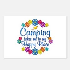 Camping Happy Place Postcards (Package of 8)