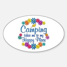 Camping Happy Place Decal