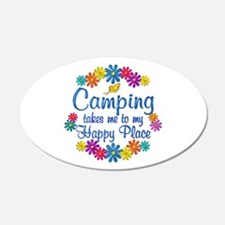 Camping Happy Place Wall Decal
