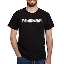 Fishing Girl T-Shirt