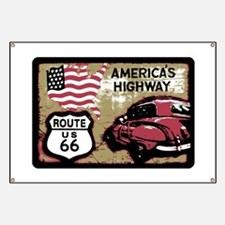 Route US 66 Banner