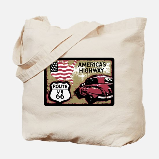 Route US 66 Tote Bag