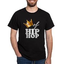 King/Queen of Hiphop Dark T-Shirt