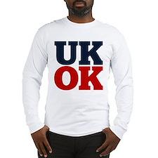 UK? OK!! Long Sleeve T-Shirt