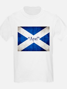 Aye, Scotland! T-Shirt