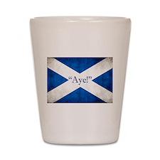 Aye, Scotland! Shot Glass