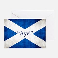 Aye, Scotland! Greeting Cards (pk Of 10)