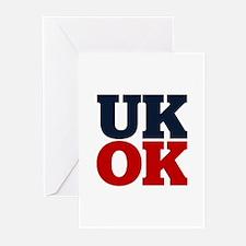 UK? OK!! Greeting Cards (Pk of 10)