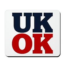 UK? OK!! Mousepad