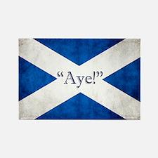 Aye, Scotland! Rectangle Magnet Magnets