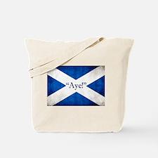 Aye, Scotland! Tote Bag