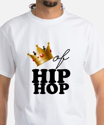 King/Queen of Hiphop White T-Shirt