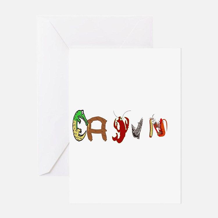 Cajun Characters Greeting Cards