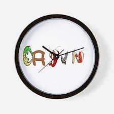 Cajun Characters Wall Clock