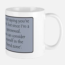 Sapiosexual Friend Zone Mug