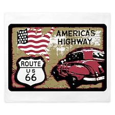 Route US 66 King Duvet