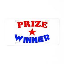 Prize Winner Aluminum License Plate