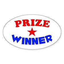 Prize Winner Decal