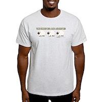 The Sheepies Are Asleepies Light T-Shirt