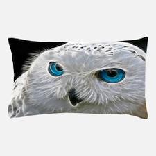 White Owl Pillow Case