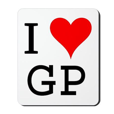 I Love GP Mousepad