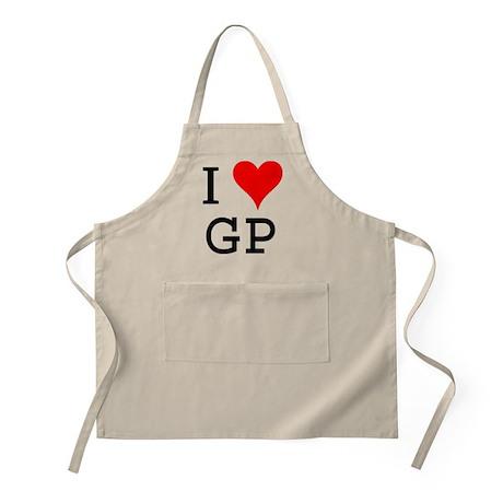 I Love GP BBQ Apron