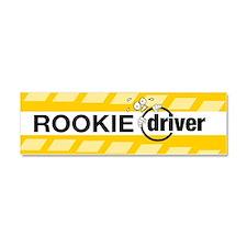 Cute Rookie driver Car Magnet 10 x 3
