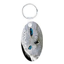 White Owl Keychains