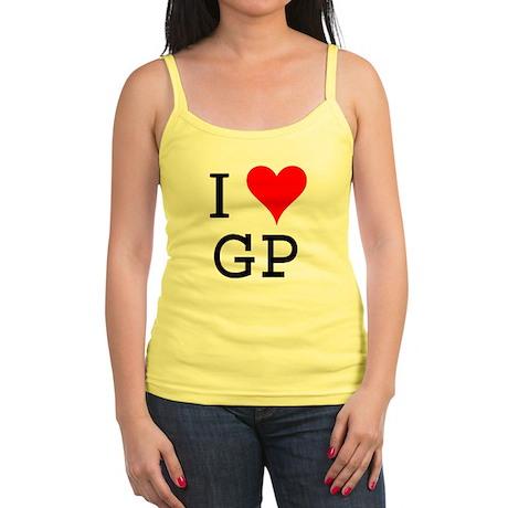 I Love GP Jr. Spaghetti Tank