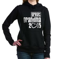 Great Grandma 2015 Women's Hooded Sweatshirt
