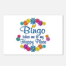 Bingo Happy Place Postcards (Package of 8)