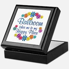 Ballroom Happy Place Keepsake Box