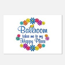 Ballroom Happy Place Postcards (Package of 8)