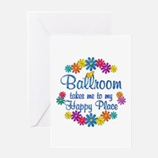 Ballroom Happy Place Greeting Card