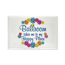 Ballroom Happy Place Rectangle Magnet