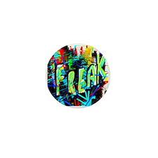 Graffiti Freak Mini Button