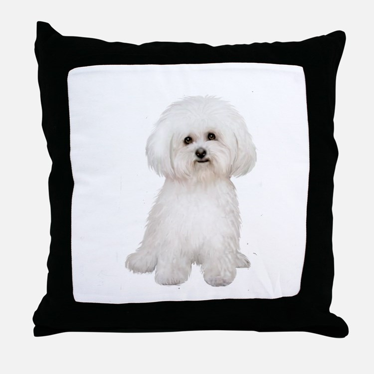 Bichon Frise #2 Throw Pillow