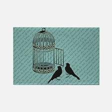 BIRDCAGE Rectangle Magnet