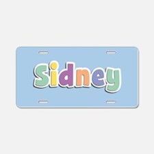 Sidney Spring14 Aluminum License Plate