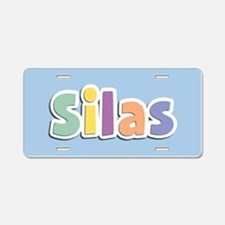 Silas Spring14 Aluminum License Plate