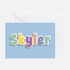 Skyler Spring14 Greeting Card