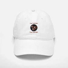 CUSTOM TEXT Meat On BBQ Grill Hat