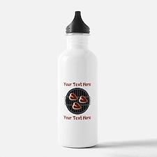 CUSTOM TEXT Meat On BB Water Bottle
