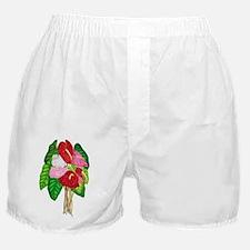 Anthurium Bouquet Boxer Shorts